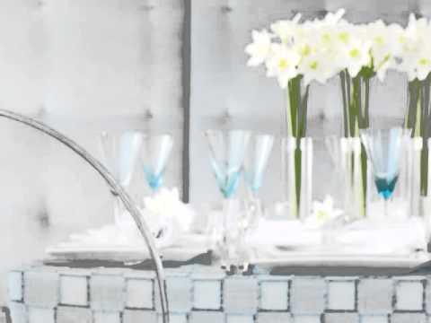 Romantic Breakfast Table Setting