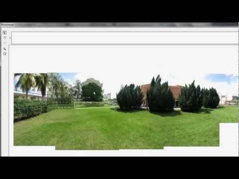 Automatically merge panoramic photos via adobe photoshop