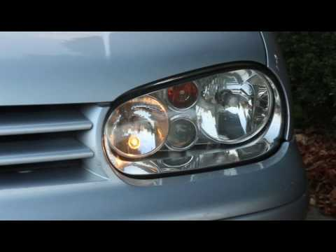 VW Golf/Bora How to Change/Fit New H7 Headlight Bulb - Guide for Replacement