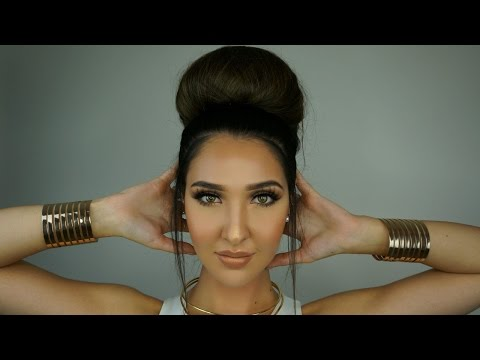 How To: Do a Big Bun in Your Hair Using a Hair Donut