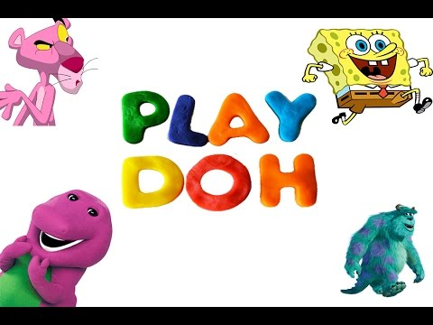 LEARN COLOURS WITH PLAY DOH AND SURPRISE EGG