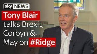 Tony Blair talks Brexit, Corbyn, May & social media