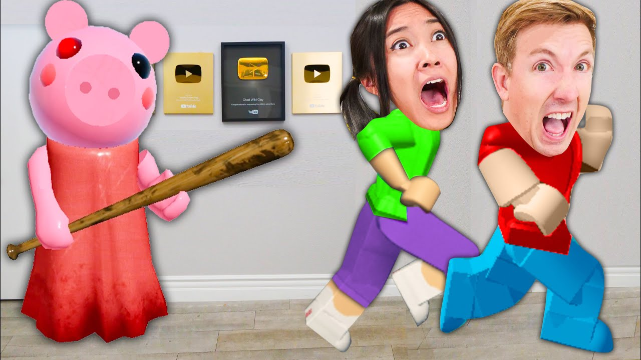 ROBLOX PIGGY In Our Safe House! Piggy Book 2 Chapter 3 Game Challenges with Ex Hacker!