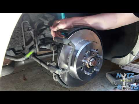 1992-1998 Lexus LS400 Rear brakes rotors and pads remove and install