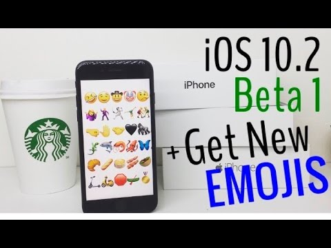 iOS 10.2 Beta 1 + How to Get New Emojis