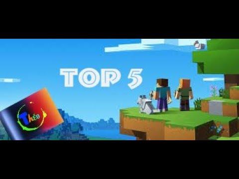 TOP 5 Des Maps Minecraft ps3/ps4 a télécharger en disc et en digital(octobre 2017).