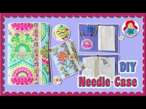 DIY | Needle Case Sewing Tutorial + FREE Pattern Download!!! • Sami Doll Tutorials