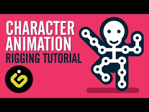 Character Rigging, EASY Character Animation Tutorial In