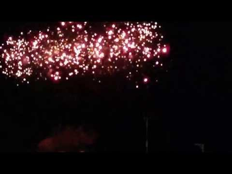 South Shields fireworks 2013 - first show at 18:30