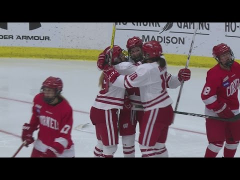 Wisconsin women's hockey gets the sweep of Cornell