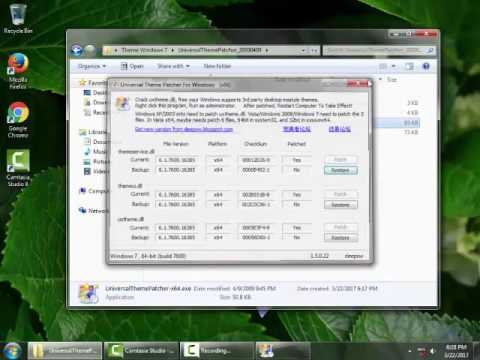 Change windows 7 Theme to Flat mode like win 8/10