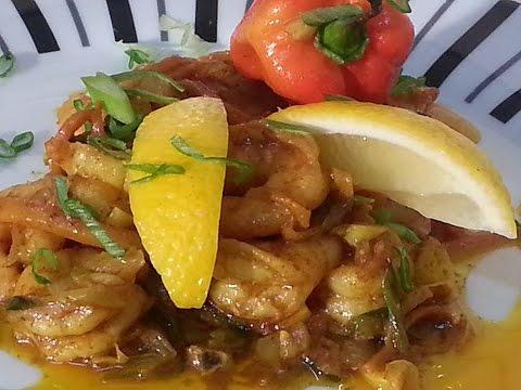 Curry King Prawns | Recipes By Chef Ricardo