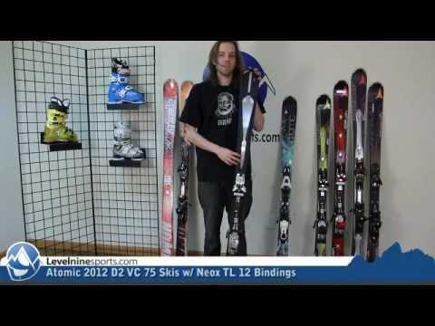 Atomic 2012 D2 VC 75 Skis w/ Neox TL 12 Bindings