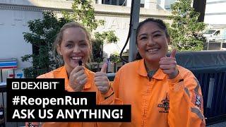 #ReopenRun - Ask us anything!