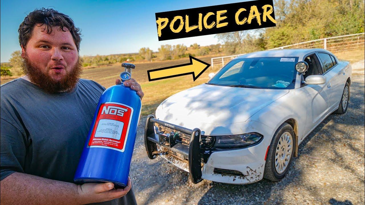 I Put Nitrous on my Police Car