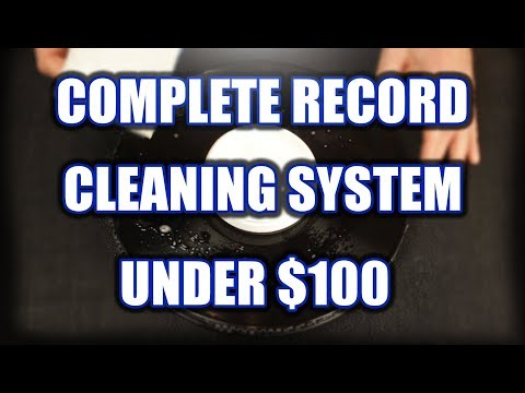 How to Build a Complete Record Cleaning System for Under $100