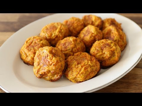 Baked Carrot Patties Recipe