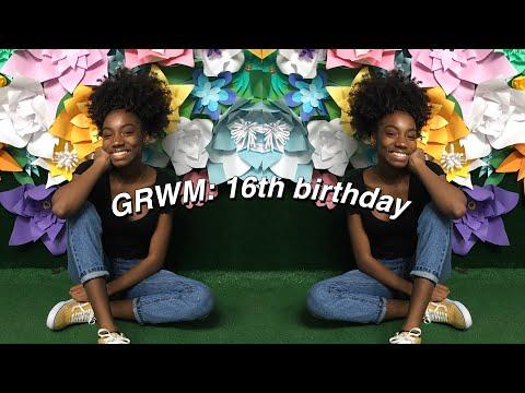 BIRTHDAY GRWM