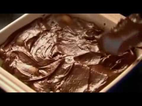 Chocolate Pear Pudding (حلال)