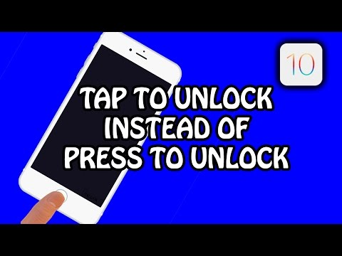 iOS 10 Tutorial: Tap to Unlock Phone