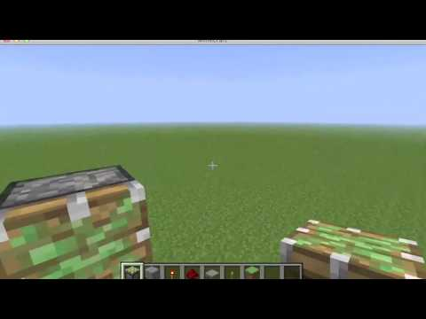 Minecraft: 2x2 & 3x2 Piston Door Tutorial (Lever OR Pressure Plates)