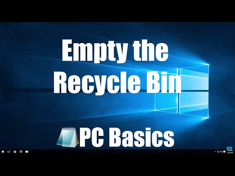 How to Empty the Recycle Bin on your Computer