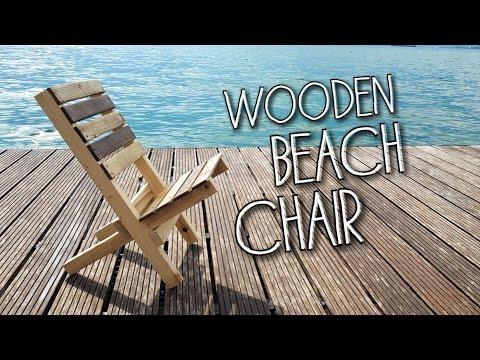DIY - Wooden Camp / Beach Chair (English Subtitles)