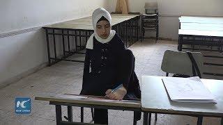 Armless Gaza girl completes high school education