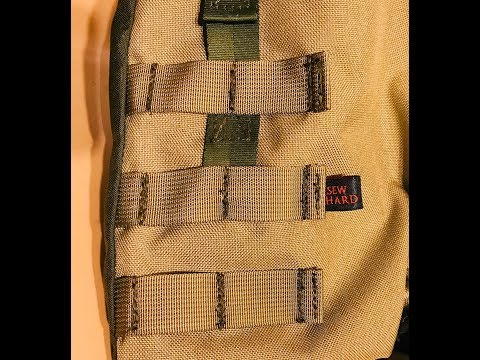 Sewing MOLLE (and maybe we shouldn't call it that)