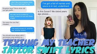 Download TEXTING MY TEACHER TAYLOR SWIFT