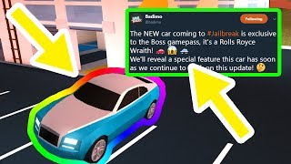 new rolls royce coming to roblox jailbreak Videos - ytube tv