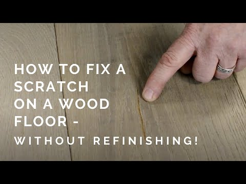 How To Fill In A Deep Scratch With Wax Without Refinishing