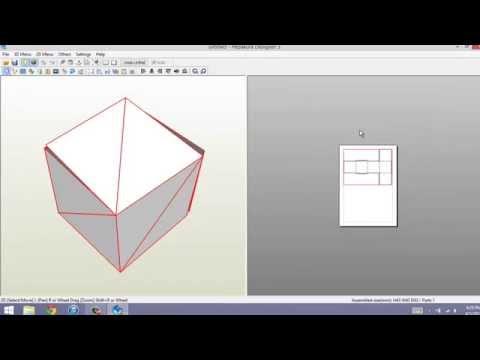 How to- Add Blender Files to Pepakura Designer.
