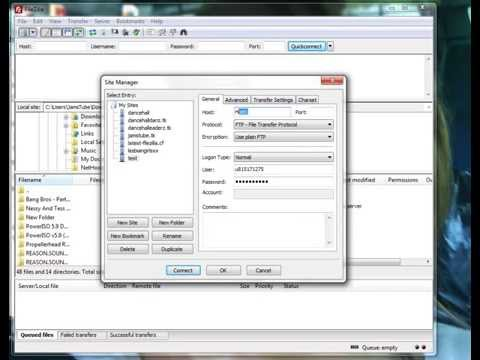 How To Connect FileZilla FTP Client To you HostSever