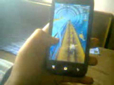 Micromax A35 Bolt Gaming (Subway Surfers)  :)