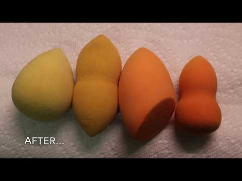 How to Clean Beauty Blenders & Makeup Brushes