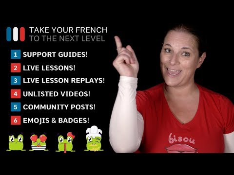 YouTube Sponsorship Perks - Learn French With Alexa