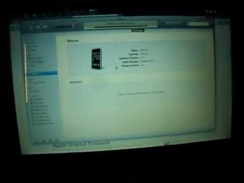 iFilm : Whited00r NEW updated  IOS 5.1 Firmware 4  Iphone 2G and 3G - 2012
