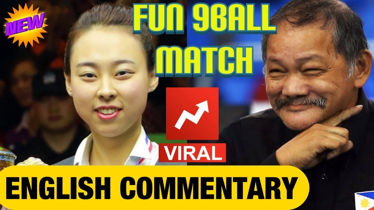 Efren Reyes VS Siming Chen (Exhibition Match) Race to 3 PoolBeast TV