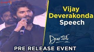 Vijay Deverakonda Speech | Dear Comrade Pre Release Event | Rashmika Mandanna | Bharat Kamma
