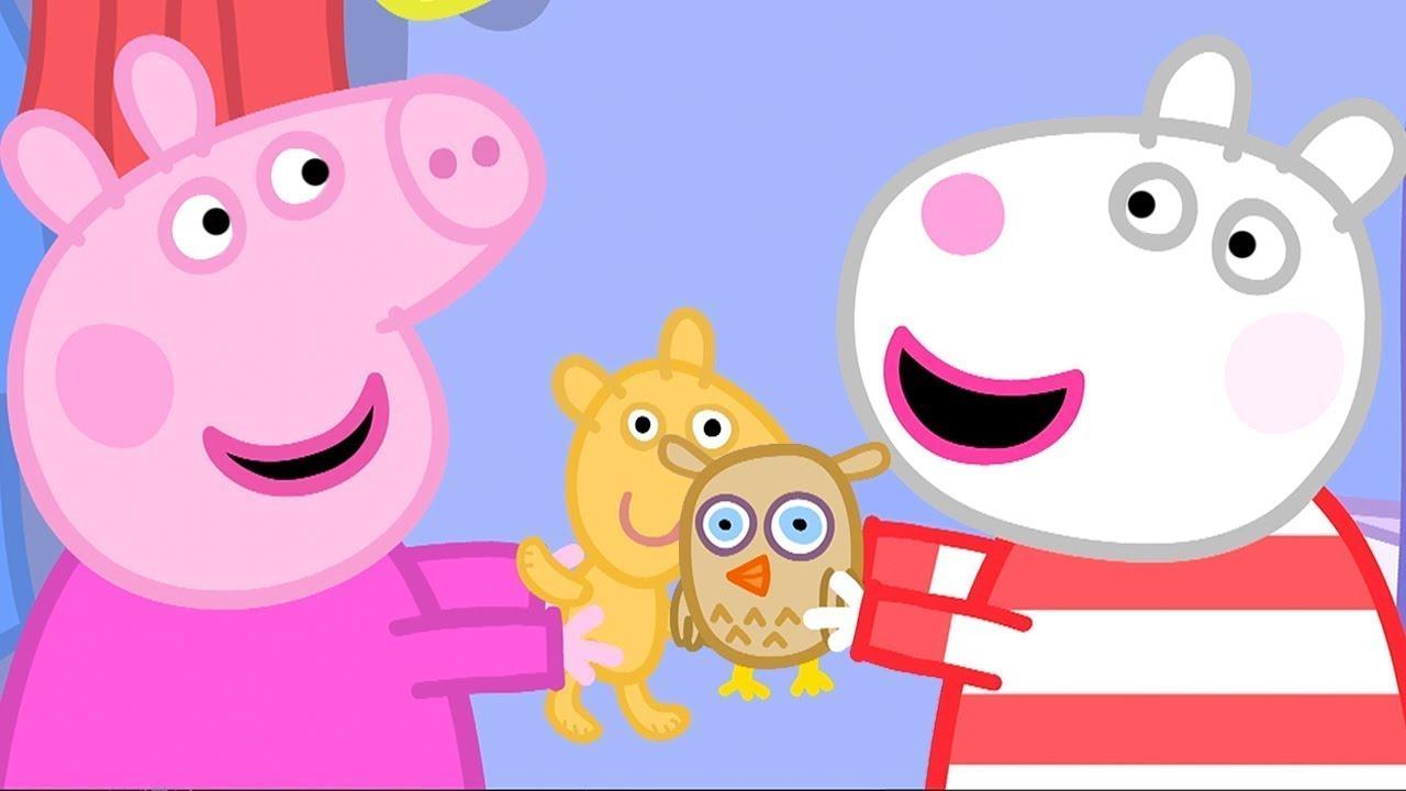 Cartoons für Kinder 🧸 Die Übernachtungsparty | Peppa Pig Deutsch Neue Folgen | Cartoons für Kinder