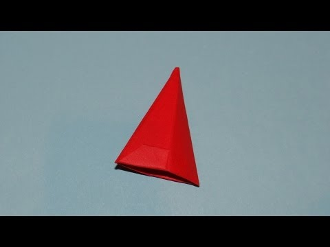 How To Make An Origami Hat (Santa Claus Cap) 03