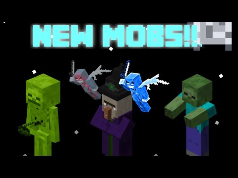 8 NEW MOBS!!! | Minecraft Astronomic Expansion Addon #3