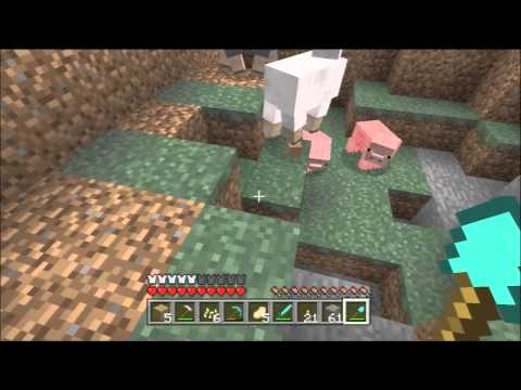 Minecraft Xbox 360 #113 - Pumpkin Farming, Pumpkin Seeds and Trapping Mobs