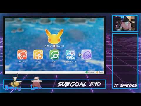 SHINY MAGIKARP on stream!  This is becoming a thing! | Pokemon Let's Go