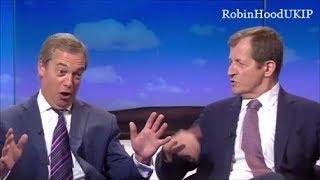 Nigel Farage vs Alastair Campbell epic debate