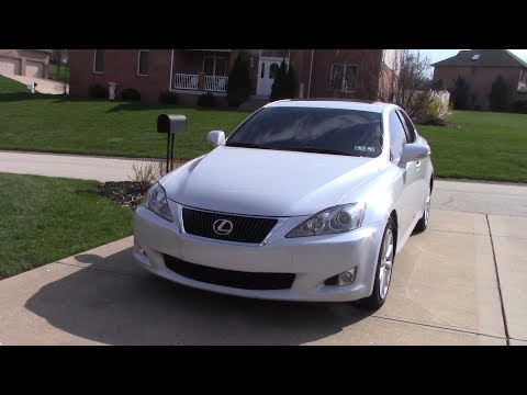 Walk Around My New Car In 2018 (A Rare 2009 GLACIER FROST MICA Lexus Is 250 AWD)