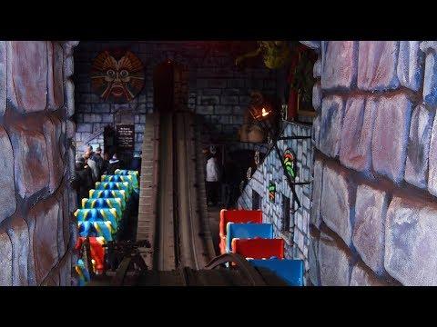 Blackpool Pleasure Beach - Ghost Train On Ride POV 1080p HD