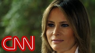 Melania reveals meaning of her