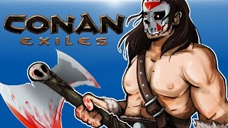 CONAN EXILES - The Life of an Exile! (With many friends!)